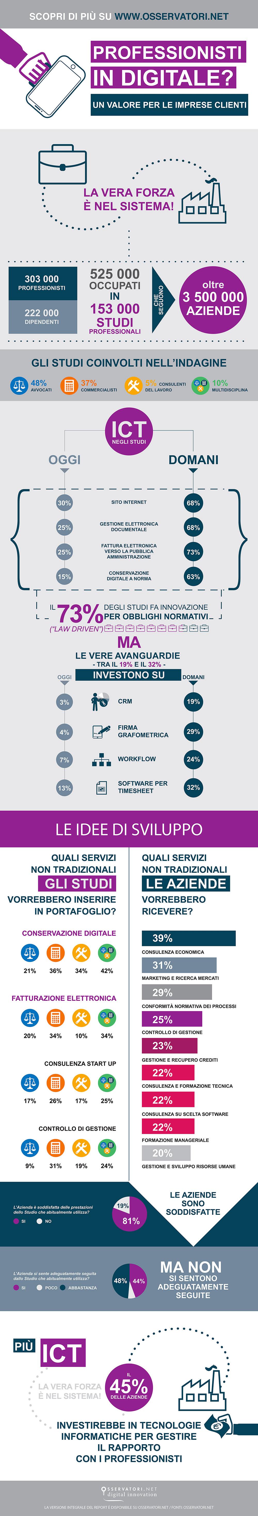 ict professionisti - infografica
