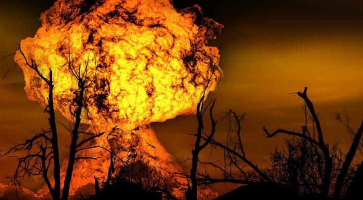 disastro naturale - esplosione