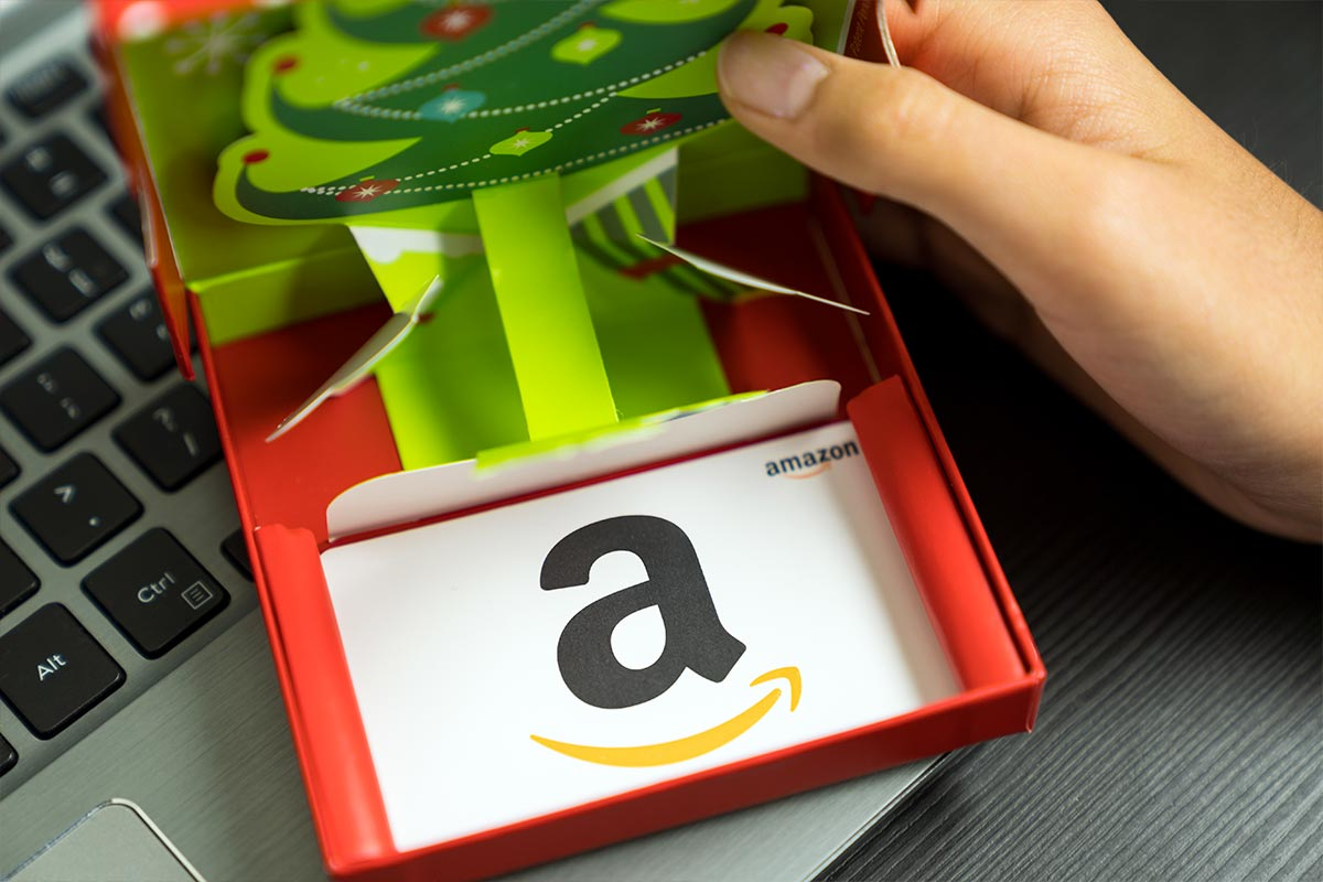 Buoni Amazon come regali di Natale