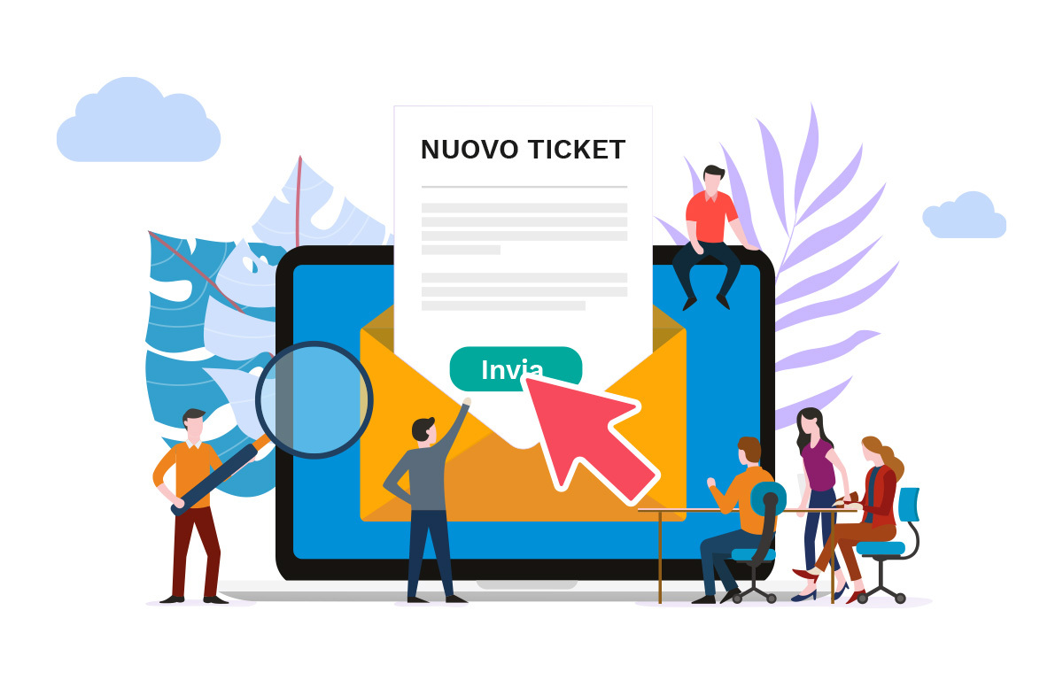 Modulo Ticket Syncrogest software assistenza